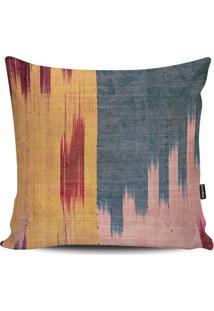 Capa Para Almofada Arte Inca- Azul & Rosa Claro- 45Xstm Home