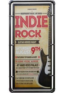 Quadro Indie Rock Kasa Ideia