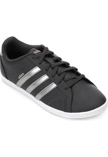 Tênis Adidas Coneo Qt Feminino - Feminino-Preto+Prata
