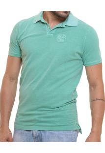 Camisa Polo Oitavo Ato Stone Wash Lisa - Masculino