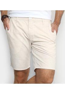 Bermuda Colcci Davi Masculina - Masculino-Off White