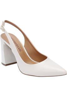 Sapato Chanel - Off White - Salto: 9,5Cmcecconello