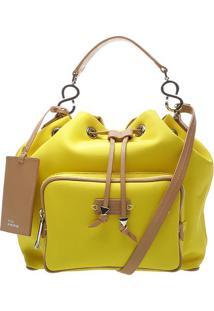 Bolsa Com Bolso- Amarelaschutz