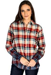 Camisa Colcci Xadrez feminina  d85288133024d