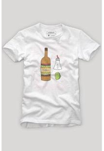 Camiseta Reserva Los Amigos Masculina - Masculino-Branco