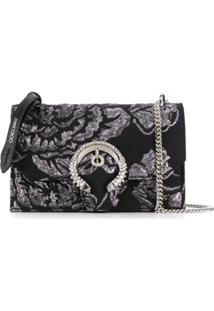 Jimmy Choo Bolsa Transversal Paris Mini - Preto