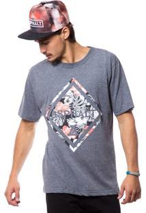 Camiseta Asphalt Rhomb - Masculino