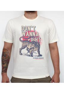 Don`T Wanna Fight - Camiseta Clássica Masculina