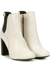7da9ea4f7 Bota Jorge Bischoff Off White feminina | Shoelover