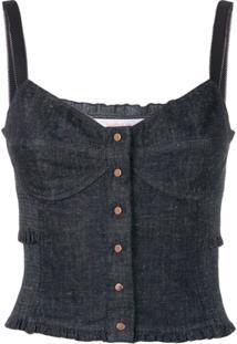 See By Chloé Blusa Jeans - Azul
