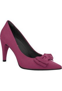 Scarpin Com Laço- Rosa Escuro- Salto: 9Cmpiccadilly