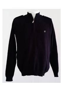 Blusa Masculina Código Zero Tricot Preta