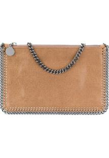 Stella Mccartney Clutch Falabella - Marrom
