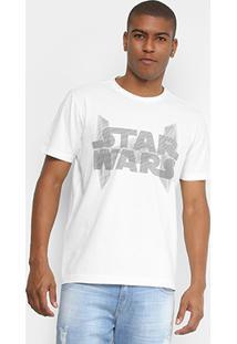 Camiseta Disney Estonada Estampa Localizada Masculina - Masculino-Off White