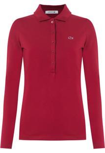 6ff6396db9768 ... Lacoste Camisa Polo - Vermelho
