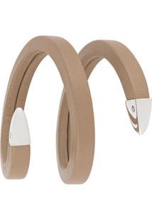 Bottega Veneta Bracelete De Espiral - Neutro