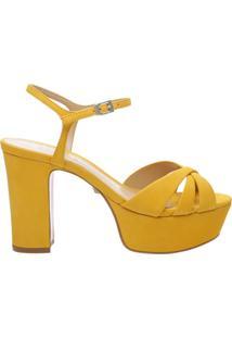 Sandália Meia Pata Carrie Yellow | Schutz