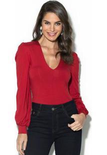 Blusa Colcci Vermelho