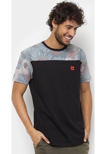 Camiseta Hang Loose Esp Leaves Masculina - Masculino