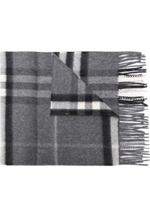 Burberry Cachecol 'The Classic Check' - Cinza