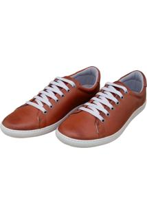 Sapatênis Navit Shoes Casual Caramelo