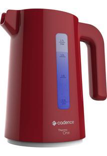 Chaleira Elétrica Thermo One 1,7L Vermelha 127V - Cadence