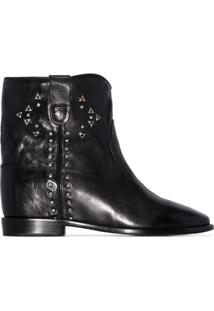 Isabel Marant Cluster Ankle Boots - Preto