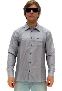 Camisa Manga Longa Maresia Simple Cinza
