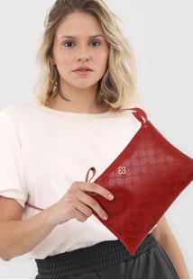Bolsa Capodarte Monograma Vermelha