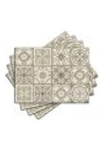 Jogo Americano - Azulejos Com 4 Peças - 1147Jo