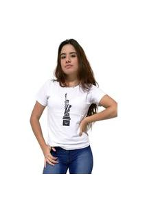 Camiseta Feminina Cellos New York Premium Branco