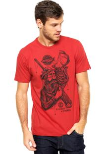 Camiseta Element Hunter Vermelha