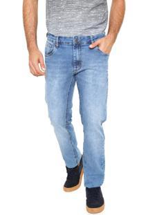 Calça Jeans Sommer Reta Etonada Azul