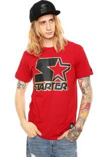Camiseta Starter Reta Vermelha