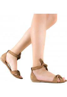 Sandália Zariff Shoes Rasteira Amarração