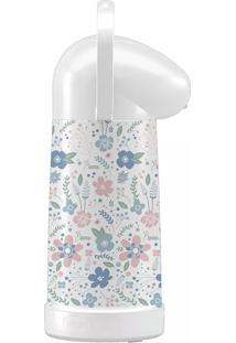 Garrafa Térmica De Mesa 1L - Nobile Branca Decorada
