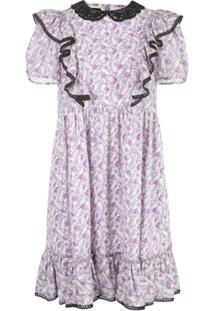 Marc Jacobs Vestido 'The Shirley' - Roxo