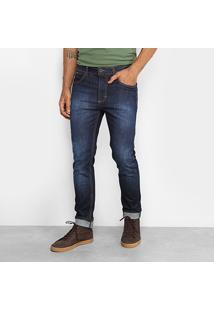 Calça Jeans Reta Forum Alexandre Tradicional Masculina - Masculino