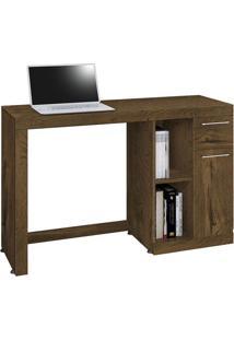 Mesa Para Computador Doris Nogal Rústico
