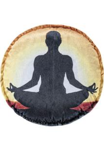 Capa De Almofada Guga Tapetes Redonda Yoga01