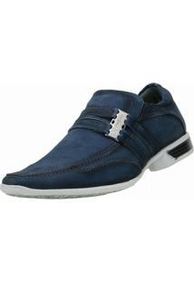 Sapato Social Nevano Jovem - Masculino-Azul