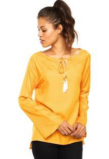 Blusa Enfim Leve Color Amarela