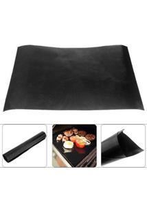 Manta Grill Antiaderente De Teflon Para Churrasqueira E Assadeiras 30 X 40 Cm