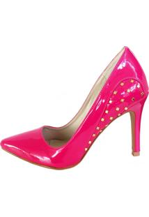 Scarpin Blume Tachas Pink - Tricae