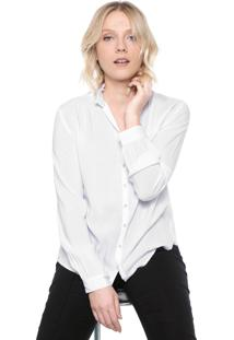 Camisa Ana Hickmann Babados Branca