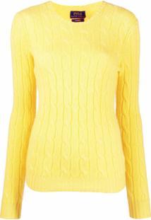 Polo Ralph Lauren Suéter De Cashmere E Tricô - Amarelo