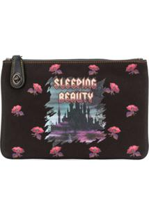 Coach Clutch 'Sleeping Beauty' - Preto