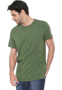 Camiseta Richards Logo Verde