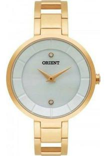 Relógio Orient Fgss0049 B1Mx Feminino - Feminino-Dourado