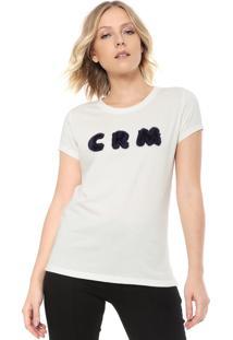Camiseta Carmim Crm Off-White
